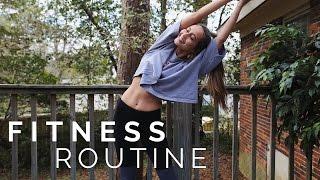 My Fitness Routine   Kristin Lauria