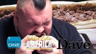 Eddie 'The Beast' Hall DESTROYS the 5 pound Philly Cheesesteak Challenge | Eddie Eats America