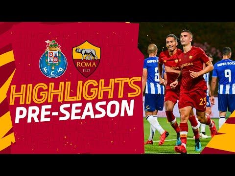 VIDEO - Gli highlights di Porto-Roma