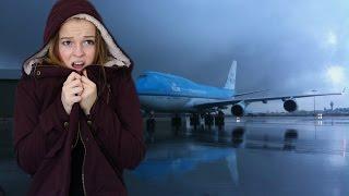STORYTIME: Cancelled Flight Left Me Stranded ALONE! (LIVE FOOTAGE)