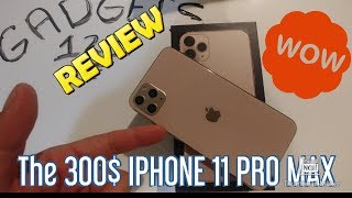 THE 300$ iPhone 11 PRO MAX SUPER Clone UNBOXING - BEWARE -