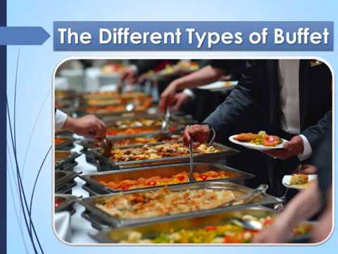 The Different Types of Buffet