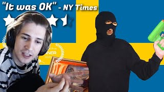 xQc Reacts to The Swedish Job | Sundance Rejects | Internet Historian: Incognito Mode