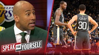 Dahntay Jones on the Warriors' dysfunction & LeBron's return to Cleveland | NBA | SPEAK FOR YOURSELF