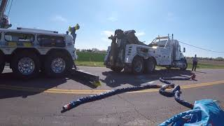 T880 Rotator- Country Repair Rollover (Garbage Truck Recovery)