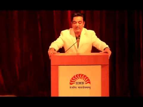 Kamal Haasan @ IIMB