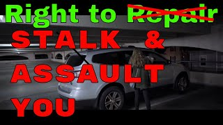 Lobbyists imply right to repair helps DOMESTIC ABUSERS, pushes RACISM and REDLINING!