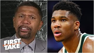 Jalen Rose defends his vote for Giannis over LeBron for NBA MVP | First Take