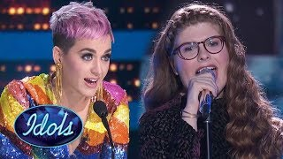 KATY PERRY PROPOSES A DUO WITH CATIE TURNER! Catie Turner Sings Take Me To Church! American Ido 2018