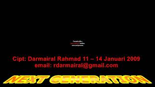 Next Generation: a music instruments created by Darmairal Rahmad email: rdarmairal@gmail.com.