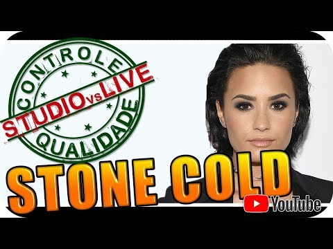 DEMI LOVATO Studio vs Live CONTROLE DE QUALIDADE Reagindo React Reação Pop Rock R&B