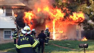 Stowman Drive house fire in Ewing