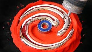 DIY Spiral Gallium Fidget Spinner