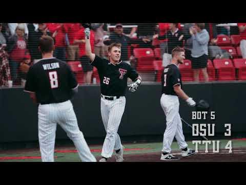 Texas Tech Baseball vs. Oklahoma State: Super Regional Game 3 Cinematic Recap   2019