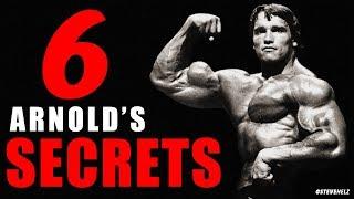 ARNOLD'S 6 SECRETS TO SUCCESS! Arnold Schwarzenegger MOTIVATIONAL SPEECH
