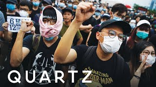 What Hong Kong's protests look like from inside China