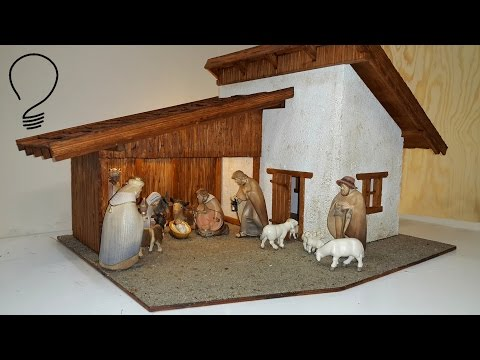 Homemade Nativity Scene Easy Beautiful Videomovilescom