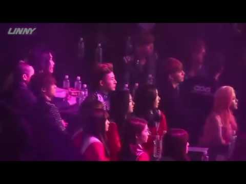 160217 iKON reaction to Red Velvet
