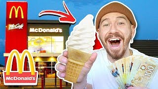 Paying McDonalds Employees $1,000 If The Ice Cream Machine Is Working!!