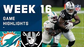 Dolphins vs. Raiders Week 16 Highlights   NFL 2020