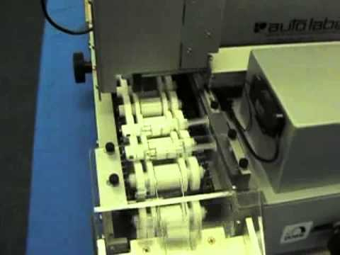 390-Ampoule, Tube, Vial and Syringe Labeler for Muli-Panel Labels