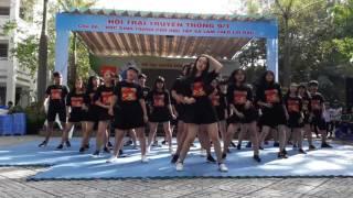 Flashmob trại 9/1 của THPT Trung Phú