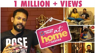 At home with Vj Deepak | I feel relaxed when I am at home | JFW Exclusive