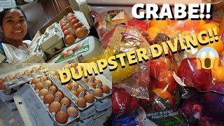 BUHAY AMERIKA:DUMPSTER DIVING HUGE HAUL!!  FIL-AM FAMILY VLOG