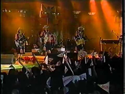 BRONCO - Cerre Las Puertas De Mi Alma Y Mañana Llorare En Vivo El Show De Veronica 1993