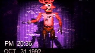 [FNAF] Halloween party show tape (Foxy) 1992