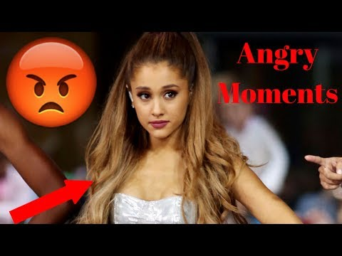 Ariana Grande Angry On Interviewers - Must Watch - 2017
