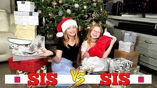 SIS vs SIS $100 CHRISTMAS SHOPPING CHALLENGE!!!