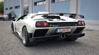 1999 Lamborghini Diablo GT | Old-School 6.0 V12 Engine Notes - Start Up, Revs & Accelerations!
