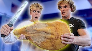 I CAN'T BELIEVE WE ATE THIS... **RAW**
