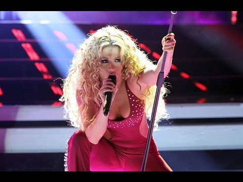 Leslie Shaw estuvo espectacular en 'Tu Cara me Suena' imitando a Shakira