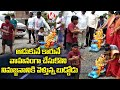 Child Converts His Toy As Vehicle For Ganesh Idol Immersion | V6 News