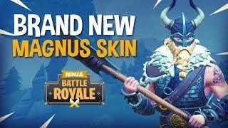BRAND NEW Magnus Skin!! - Fortnite Battle Royale Gameplay - Ninja & KingRichard