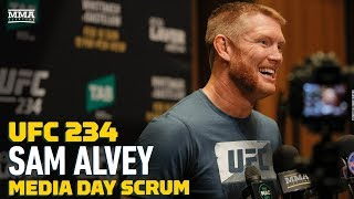 UFC 234: Sam Alvey Wants To Be 'King Of Pay-Per-Views' After Setting UFC Fight Night Record