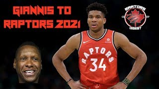 Why Giannis COULD be a RAPTOR in 2021
