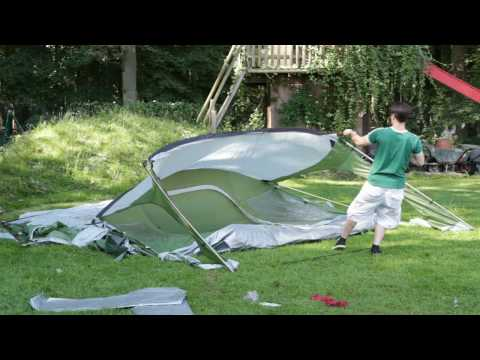 video Skandika Saturn 6 – A family tent with plenty of indoor and outdoor living