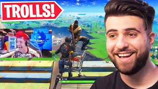 Reacting to the BEST Trolls in Fortnite..