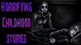 4 True HORRIFYING and Crazy Childhood Scary Stories | Ft. Lazy Masquerade
