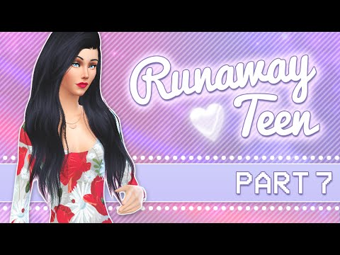 Let's Play The Sims 4: Runaway Teen Challenge | Part 7 - House Building & Makeovers