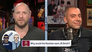 Why would the Rockets want JR Smith? | Jalen & Jacoby | ESPN