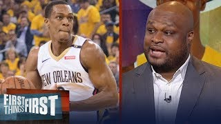 Antoine Walker: Rajon Rondo brings a veteran presence to the young Lakers | NBA | FIRST THINGS FIRST