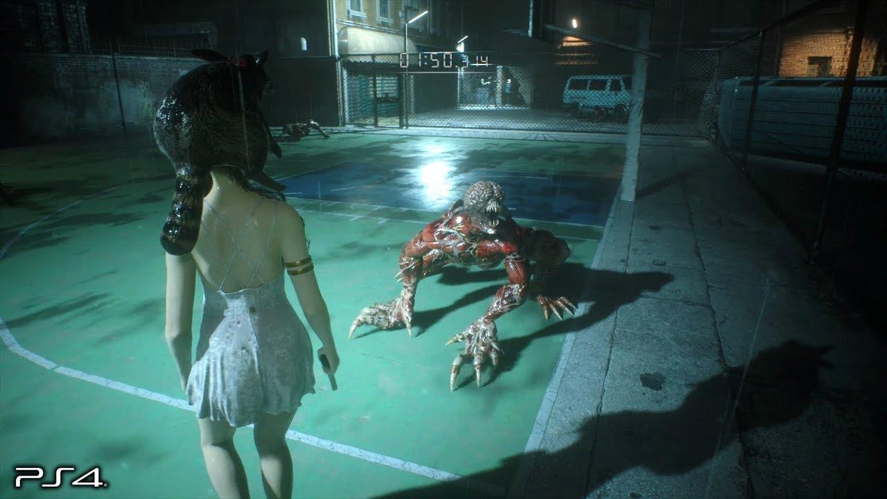 Resident Evil 2 Remake: Runaway DLC No Damage - The Ghost Survivors (PS4  PRO)