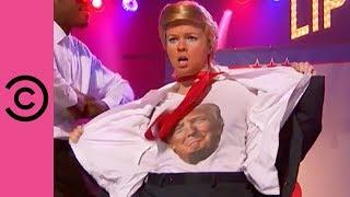 Amber Tamblyn's Hilarious Sexy Trump Performance | Lip Sync Battle