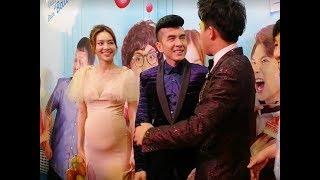 Hari Won cùng dàn sao siêu khủng đến chúc mừng Trấn Thành ra mắt phim Cua lại vợ bầu
