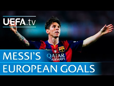 Lionel Messi ● All 86 goals ● European football