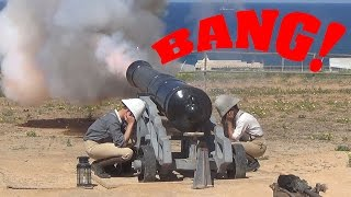 Cannon loading in the eighteenth century